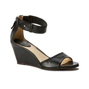 Frye Shoes - Frye Women's Carol Back Zip Wedge Sandals. 7M